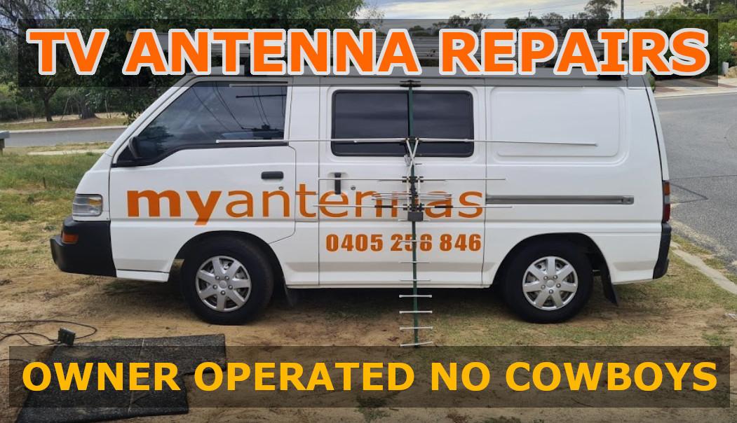 TV ANTENNA REPAIRS